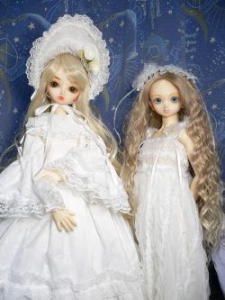白蓮とミミ