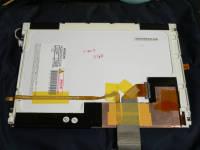 交換後の液晶パネル